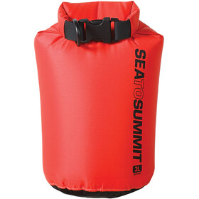 Sea to Summit Lightweight 70D Kuivapussi 2L, red
